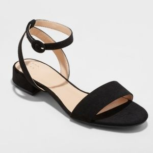 Women's Winona Ankle Strap Sandal - A New Day™ 8